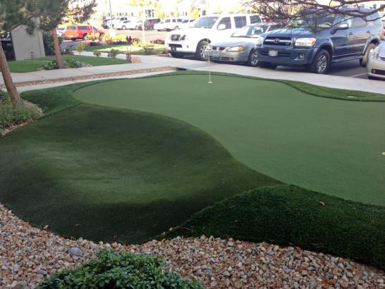 Artificial Grass Photos: Artificial Turf Installation Midway City, California Putting Green Turf, Commercial Landscape
