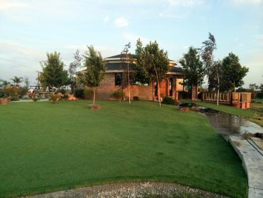 Artificial Grass Photos: Artificial Turf Installation Perris, California Paver Patio, Commercial Landscape