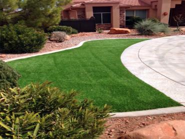 Artificial Grass Photos: Artificial Turf Installation Santa Fe Springs, California Lawns, Front Yard Design