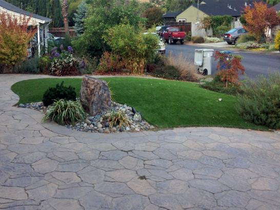 Artificial Grass Photos: Fake Grass Buena Park, California Landscape Ideas, Front Yard Landscaping