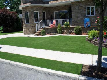 Artificial Grass Photos: Grass Carpet Crest, California Paver Patio, Front Yard