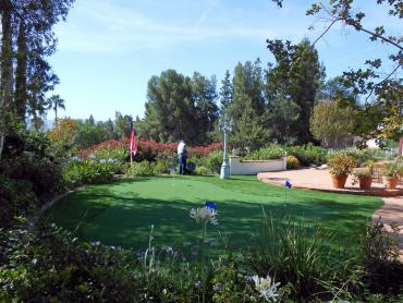 Artificial Grass Photos: Green Lawn La Crescenta-Montrose, California Putting Greens, Backyard Ideas