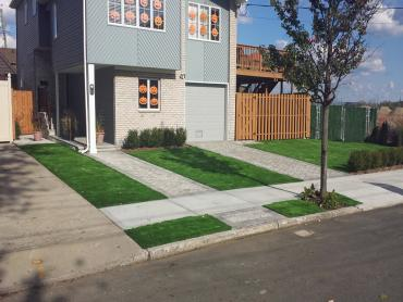 Artificial Grass Photos: Installing Artificial Grass Laguna Woods, California Landscaping, Front Yard Landscape Ideas