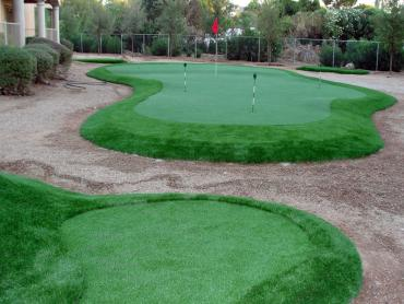 Artificial Grass Photos: Synthetic Grass Cost Sedco Hills, California Putting Green, Beautiful Backyards