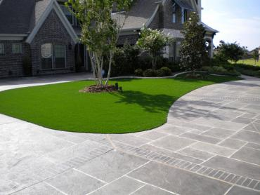 Artificial Grass Photos: Synthetic Turf Hidden Hills, California Home And Garden, Front Yard Landscaping