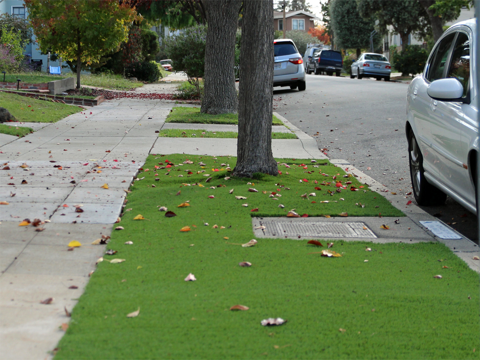 Synthetic Grass South Gate California City Landscape Small Front