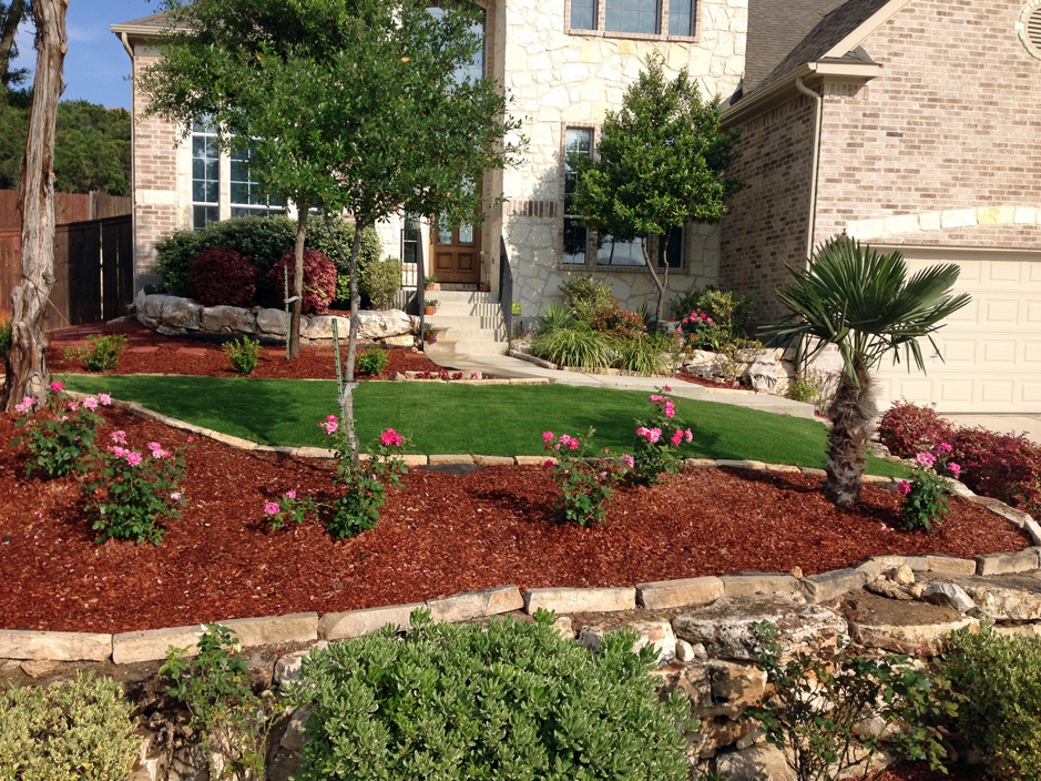 Turf Grass Laguna Hills California Landscaping Small Front Yard